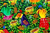 Dominican Republic, naive painting