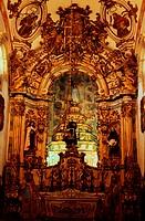 Brazil, Minas Gerais state, Ouro Preto, St. François d´Assise church (Aleijadinho)
