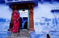 India, Rajasthan, Jodhpur, the old town