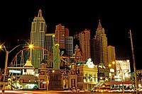 United States, Nevada, Las Vegas city, New York-New York Hotel Casino, inaugurated the January 3rd of 1997