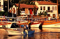 Turkey, Turquoise Coast area, Kas, the little port has become a sea resort and is famous for its gentle way of life