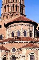 France, Haute-Garonne (31), Toulouse, Saint Sernin basilica