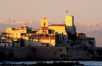 France, Alpes-Maritimes (06), Antibes, ramparts