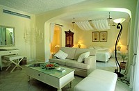 Mauritius Island, District of Riviere de Rempart, Grand Bay, the Honeymoon suite of Mauricia Hotel