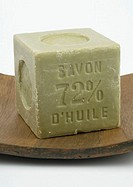Block of french soap