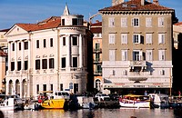 Slovenia, Piran harbour