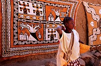Mali, Dogon Country, Dogon handicraft