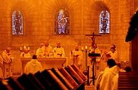 France, Drôme (26), Notre-Dame d´Aiguebelle abbey