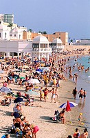 Spain, Andalusia, Cadiz, Caleta beach