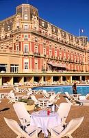 France, Pyrénées-Atlantiques (64), Pays Basque, Biarritz, Hotel du Palais, Villa Eugénie
