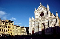 Church of the Santa Croce, Florence. Tuscany, Italy