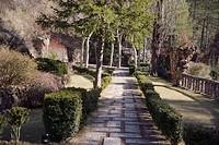 Artigas Gardens, by Antonio Gaudi. La Pobla de Lillet. Barcelona province. Spain.