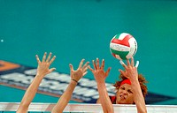 sport, female volleyball