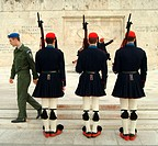 greece, athens, change of the guard