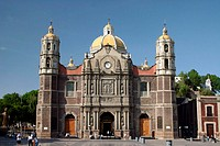 mexico, mexico city, basilica of our lady of guadalupe