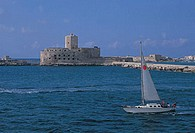 italy, sicily, trapani, the colombaia, old prison