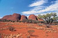 australia, uluru national park, olgas