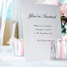 Place Setting and Invitation