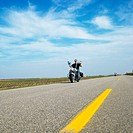 Motorcyclists on the Open Road