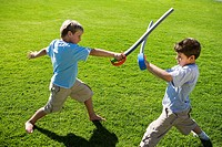 Boys Playing with Swords (thumbnail)