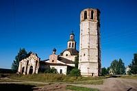 St. Nicolas church (1746-54), Syryany, Vyatka region, Russia