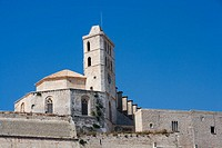 Cathedral. Ibiza, Balearic Islands. Spain