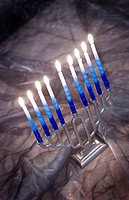 Jewish Menorah