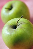 Close-up of two apples