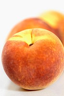 Close-up of peaches