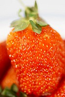 Close-up of a strawberry