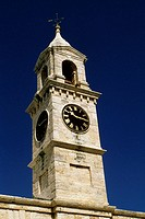 Low angle view of Dockyard clock, Bermuda