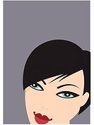 Woman with short black hair (thumbnail)