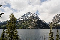 USA, Wyoming, Grand Teton National Park, Jenny Lake