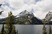 USA, Wyoming, Grand Teton National Park, Jenny Lake