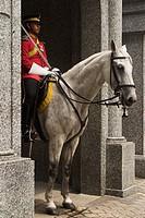 Horse-mounted Guard at Istana Negara, Kuala Lumpur, Malaysia