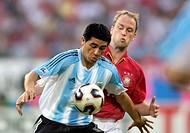 SG Sport, Fußball, Confederations Cup 2005, Gruppenspiel, Deutschland gegen Argentinien 2:2, Franken-Stadion Nürnberg, Deutschland, 21 06 2005, Spiels...