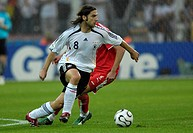 Sport, football, world championships, Germany versus Poland, 1:0, Dortmund, 14 6 2006, Thorsten Frings, footballer, sports, match, world cup, FIFA, so...
