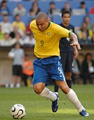 Sport, football, world championships, Brazil versus Australia, 2:0, Munich, 18 6 2006, Ronaldo, footballer, sports, match, world cup, FIFA, soccer,