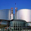 European Court for Human Rights, Strasbourg. Alsace, France