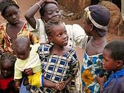 Senoufo children. Sikasso region, Mali