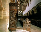 geography/travel, Germany, Baden-Wuerttemberg, Maulbronn, churches and convents, Maulbronn monastry, 1147 - 1521, interior view, minster, choir stalls...