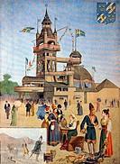 SG hist , Presse, Zeitschriften/Magazine, ´Le Petit Journal´, Paris, 11  Jahrgang, Nummer 508, illustrierte Beilage, Sonntag 12  August 1900, Illustra...