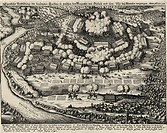 events, Thirty Years War 1618 - 1648, Swedish intervention 1630 - 1635, Battle at Wimpfen 6 5 1622, engraving, ´Theatrum Europaeum´, Matthäus Merian t...
