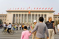 National Day holiday at Tiananmen Square, Beijing. China