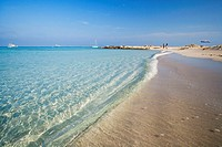 Beach of Ses Illetes, Formentera. Balearic Islands, Spain
