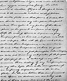 Monroe, James, 28 4 1758 - 4 7 1831, US Politiker Rep Dem 5 Präsident der USA 1817 - 1825, Manuscript ´Amerika den Amerikanern´ 1823, Auschnitt, Verei...