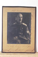 Bermondt-Avalov, Pawel Rafalovich, 1884 - 1973, Russian General, commander of the White Forces in the Baltic 1918/1919, portrait, circa 1919, Ussuri C...