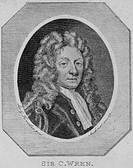 Sir Christopher Wren 1632-1723, English architect and astronomer  Wren is most famous as the architect of London churches, especially St Paul´s Cathed...