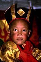 movie, ´Living Buddha´, DEU 1994, Regie: Clemens Kuby, scene with: Urgyen Thinley Dorje, documentary, Lamaism, religion, Buddhism, 15th Dalai Lama, Da...