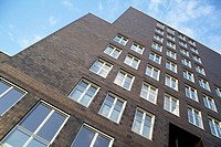 Apartment house. Veemkade, Ijhaven, Amsterdam, Holland, Netherlands
